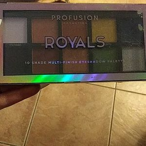 Profusion Royals 10 shade eyeshadow palette